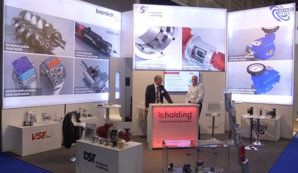 DST with magnetic couplings and conversion kits for the PU industry at the UTECH 2018